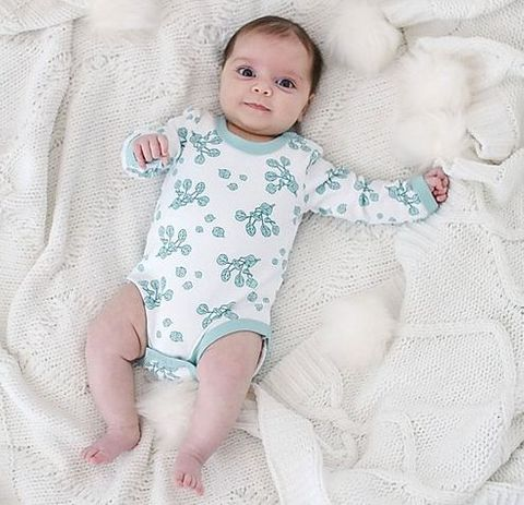 Bambino & Bundles Gum Leaf Bodysuit