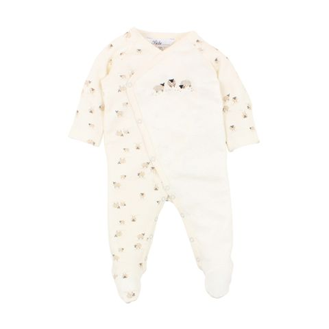 Bebe Sheep Wrap Romper
