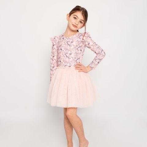 Little Hearts Blossom Tutu Dress