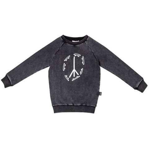 Kapow Skate and Peace Sweater