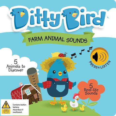 Ditty Bird Farm Animal Sounds Book