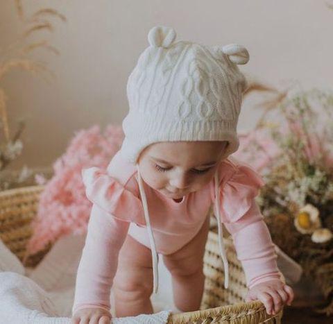 Bambino & Bundles Pink Ruffle Onesie