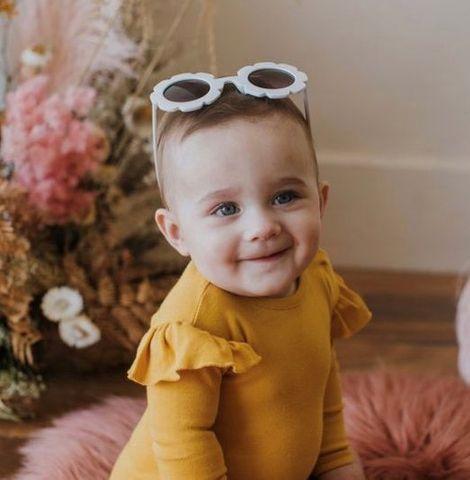 Bambino & Bundles Sunshine Ruffle Onesie