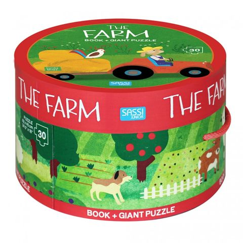 The Farm Book & Giant Puzzle