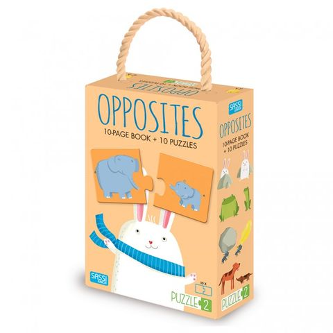 Opposites Book & Puzzles