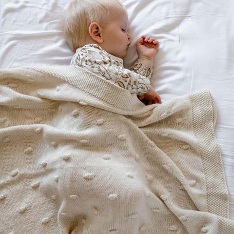 di Lusso Marshmallow Baby Blanket