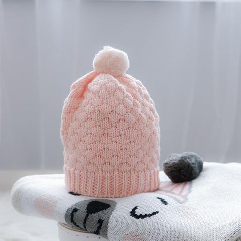 di Lusso Milly Pink Baby Beanie