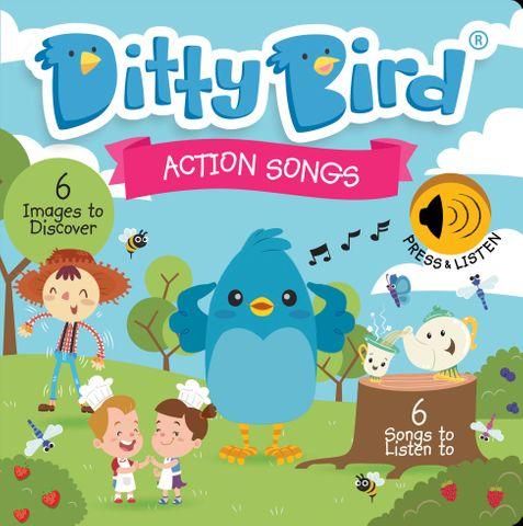 Ditty Bird Action Songs Book