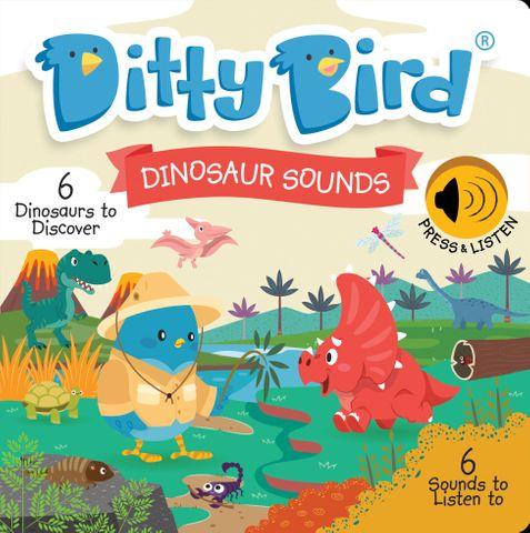 Ditty Bird Dinosaur Sounds Book