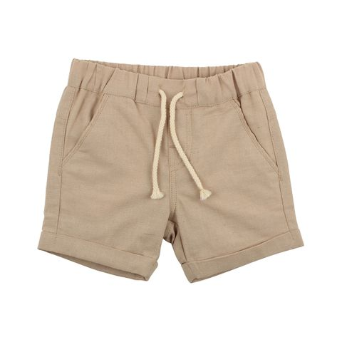 Fox & Finch Raah Woven Short Beige