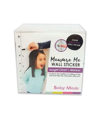 Baby Made Measure Me Wall Sticker