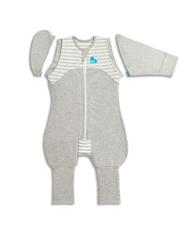 Love to Dream Swaddle Up Transition Suit 1.0 tog Grey