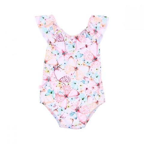 Bebe Aimie Frill Swimsuit