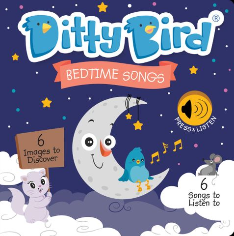 Ditty Bird Bedtime Stories Book