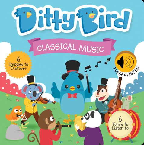 Ditty Bird Classical Music Book