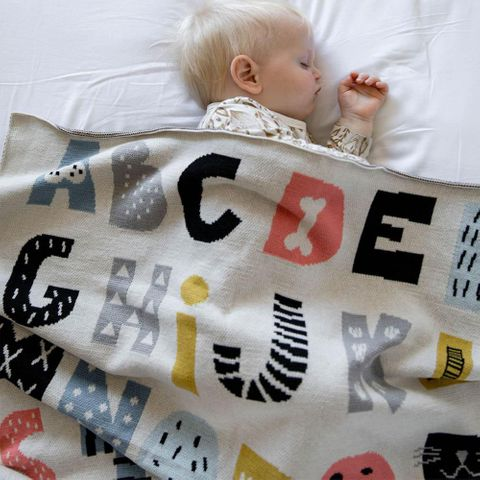 di Lusso ABCD Baby Blanket