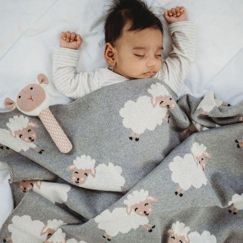 di Lusso Bo Peep Baby Blanket