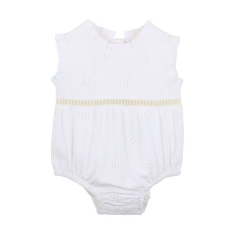 Fox & Finch Ocean Broidery Romper