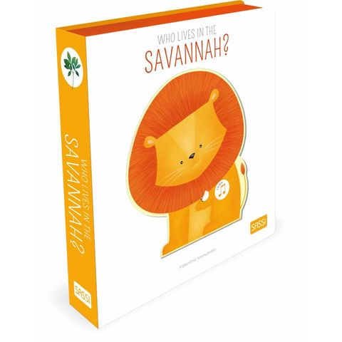 Who Lives in the Savannah Musical Book