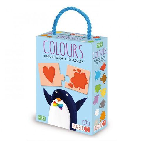 Colours Book & Puzzles