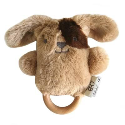OB Designs Dave Dog Wooden Teether