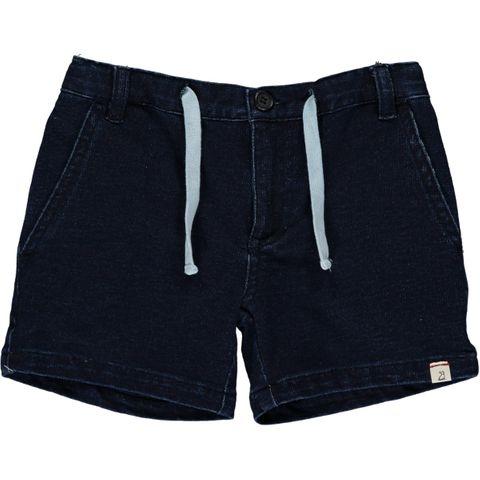 Me & Henry Blue Denim Effect Shorts