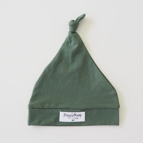 Snuggle Hunny Kids Olive Knotted Beanie