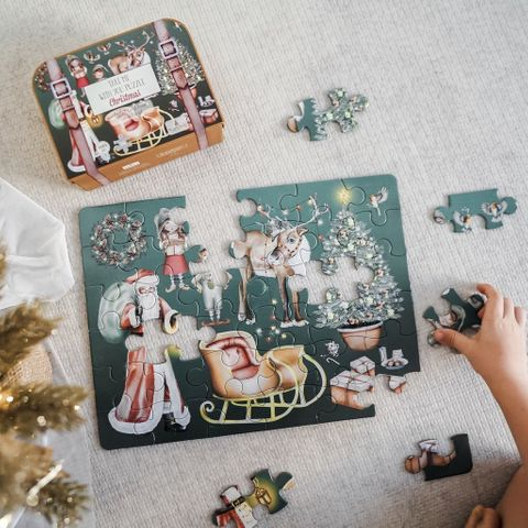 Modern Monty Christmas Take me with you Puzzle