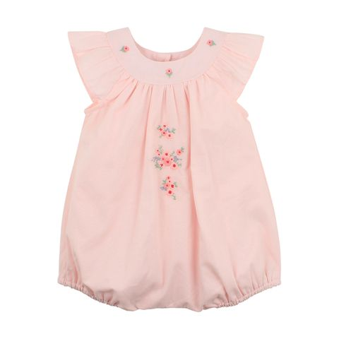 Bebe Lily Woven Romper