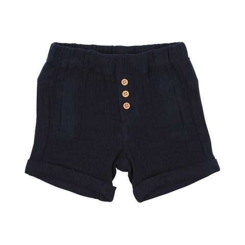 Fox & Finch The River Crinkle Shorts Navy