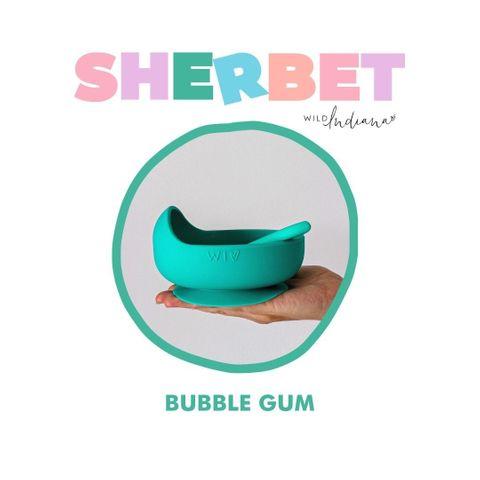 Wild Indiana Bubble Gum Silicone Bowl Set