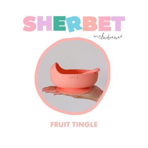 Wild Indiana Fruit Tingle Silicone Bowl Set