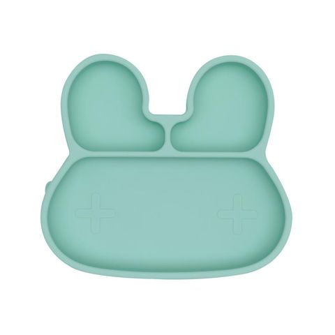 We Might Be Tiny Bear Stickie Plate Mint