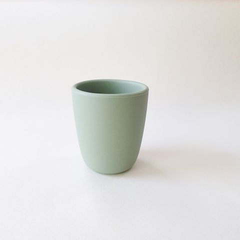 Dove and Dovelet Silicone Training Cup Sage