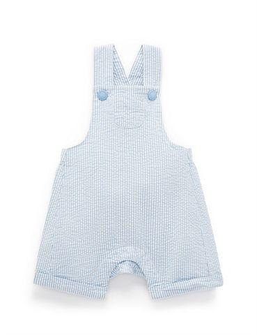 Purebaby Blue Stripe Overall