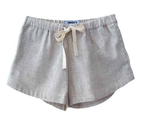 Dukes & Duchesses Sand Curved Shorts