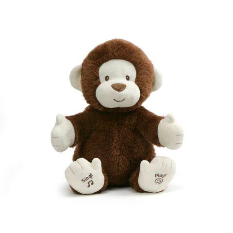 Baby Gund Sing & Play Clappy the Monkey