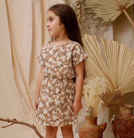 Kapow Vintage Floral Pocket Dress