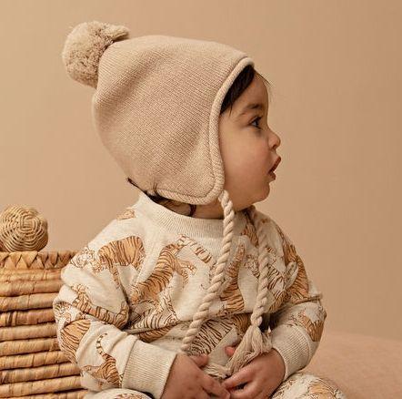 Kapow Biscuit Knit Beanie