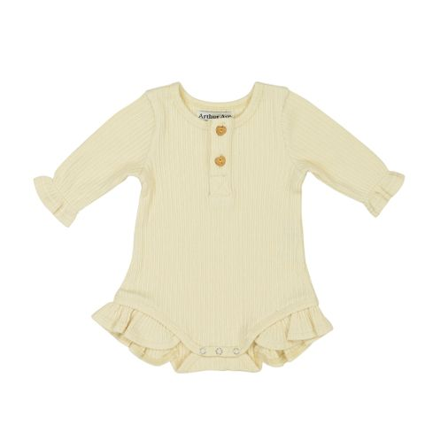 Arthur Avenue Soft Onesie Cream