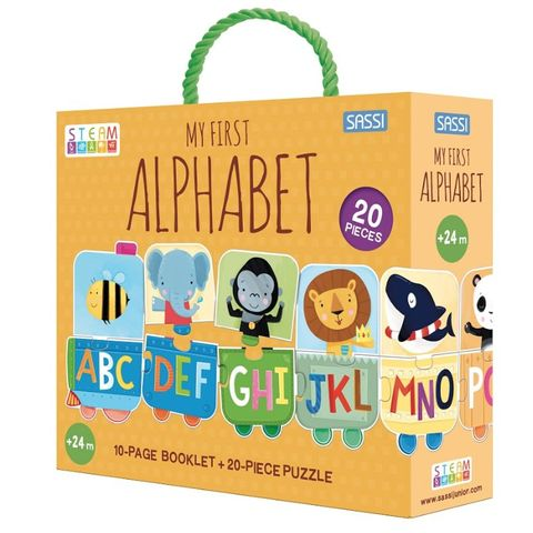 My First Alphabet Puzzle & Booklet