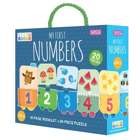 My First Numbers Puzzle & Booklet