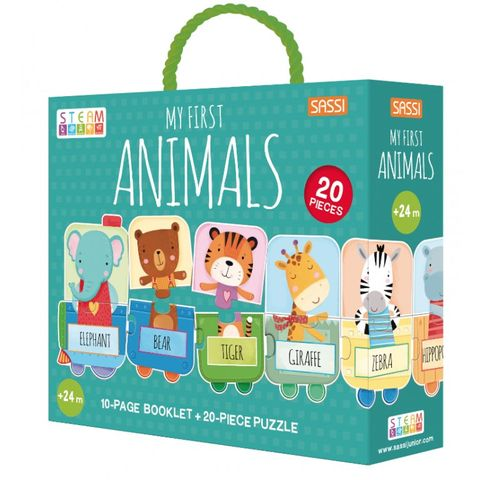 My First Animals Puzzle & Booklet