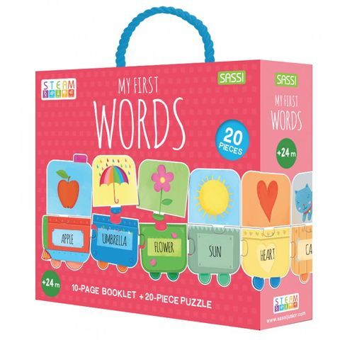 My First Words Puzzle & Booklet