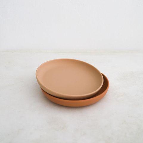 Rommer Cinnamon & Nude Plate Set