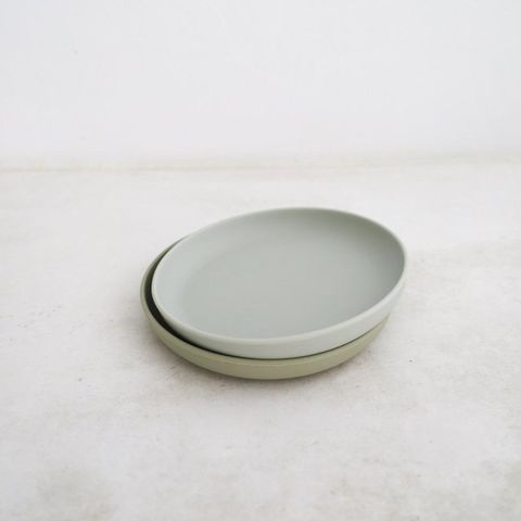 Rommer Cloud & Oyster Plate Set