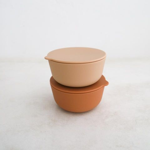 Rommer Cinnamon & Nude Bowl Set