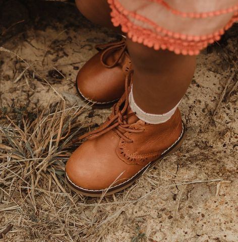 Little Mazoes Lily Boot Brown
