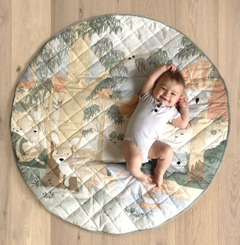 Mister Fly Australiana Water Resistant Playmat & Pillow