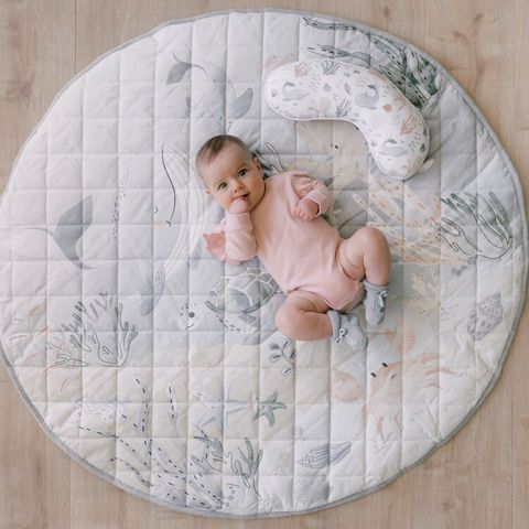 Mister Fly Ocean Water Resistant Playmat & Pillow